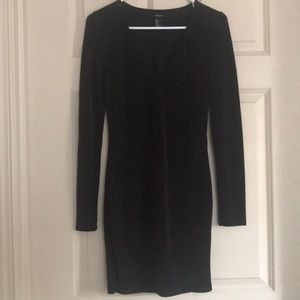 Sparkle long sleeve dress